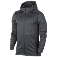 Nike Hyperelite Winterized Hoodie - Men's - Grey / Grey