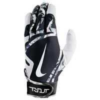 Nike Trout Edge Batting Gloves - Men's - White / Black