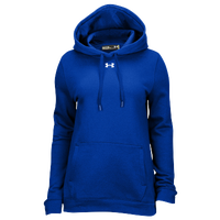 Under Armour Team Hustle Fleece Hoodie - Women's - Blue / Blue