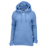 Under Armour Team Hustle Fleece Hoodie - Women's - Light Blue / Light Blue