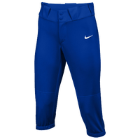 Nike Team Diamond Invader 3/4 Pants - Women's - Blue / White