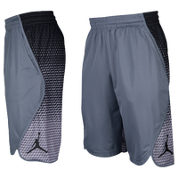 Jordan Flight Victory Graphic Shorts - Men's - Grey / Black