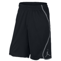 Jordan Flight Victory Shorts - Men's - Black / Grey