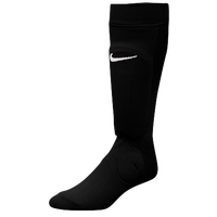 Nike Shin Sock III - Boys' Grade School - Black / Black