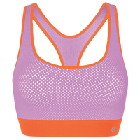 Champion Mesh Freedom Racerback Bra - Women's - Purple / Orange