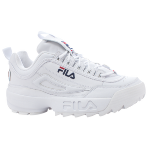 Fila Disruptor - Men's - White/Peacock/Vintage Red