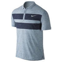 Nike Dri-FIT Advantage Polo - Men's - Grey / Navy