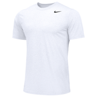 Nike Team Legend Short Sleeve Poly Top - Boys' Grade School - All White / White