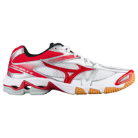 Mizuno Wave Bolt 6 - Women's - White / Red