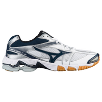 Mizuno Wave Bolt 6 - Women's - White / Navy