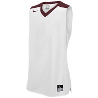 Nike Team Elite Franchise Jersey - Men's - White / Maroon