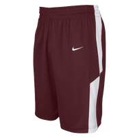 Nike Team Elite Franchise Shorts - Men's - Maroon / White