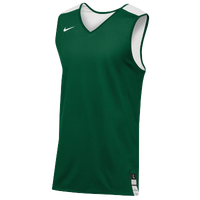 Nike Team Elite Reversible Tank - Men's - Dark Green / White
