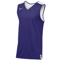 Nike Team Elite Reversible Tank - Men's - Purple / White