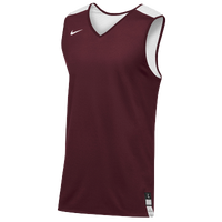 Nike Team Elite Reversible Tank - Men's - Cardinal / White