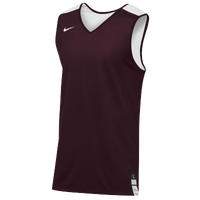 Nike Team Elite Reversible Tank - Men's - Maroon / White