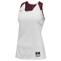 Nike Team Elite Stock Jersey - Women's - White / Cardinal
