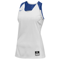 Nike Team Elite Stock Jersey - Women's - White / Blue