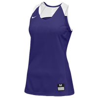 Nike Team Elite Stock Jersey - Women's - Purple / White