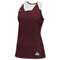 Nike Team Elite Stock Jersey - Women's - Cardinal / White