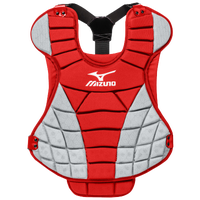 Mizuno Samurai Fastpitch Chest Protector - Women's - Red / Grey