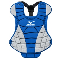 Mizuno Samurai Fastpitch Chest Protector - Women's - Blue / Grey