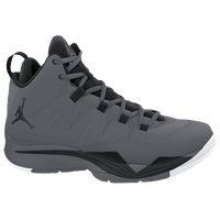 Jordan Super.Fly II - Boys' Grade School - Grey / Black