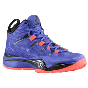 Jordan Super.Fly II PO - Boys' Grade School - Dark Concord/Black/Infrared 23