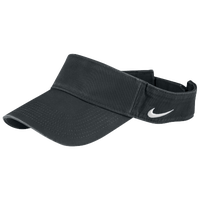 Nike Team Classic Visor - Men's - Grey / Grey