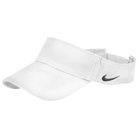 Nike Team Classic Visor - Men's - All White / White