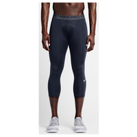 Nike Pro Cool Compression 3/4 Tights - Men's - Navy / Grey