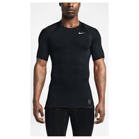 Nike Pro Cool Compression S/S Top - Men's - All Black / Black
