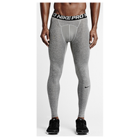 Nike Pro Cool Compression Tights - Men's - Grey / Black