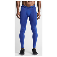 Nike Pro Cool Compression Tights - Men's - Blue / Navy