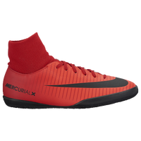 Nike Mercurial Victory VI Dynamic Fit IC - Boys' Grade School - Red / Black