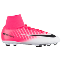 Nike Mercurial Victory VI Dynamic Fit FG - Boys' Grade School - Pink / Black