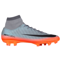 Nike Mercurial Victory VI Dynamic Fit FG - Men's - Grey / Orange