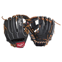 Rawlings Gamer G314-2B-3/0 PROI-Web Fielder Glv - Black / Brown