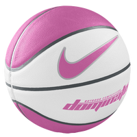 Nike Dominate Basketball - Men's - White / Pink