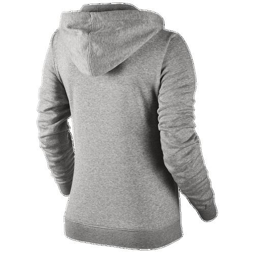 Nike NSW Full Zip Hoodie - Women's - Casual - Clothing - Dark Grey ...