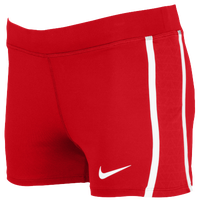 Nike Team Tempo Boy Shorts - Women's - Red / White