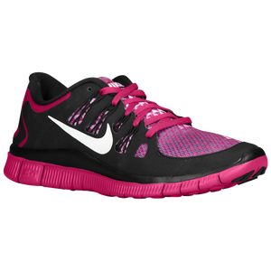 Nike Free 5.0+ - Women's - Bright Magenta/Black