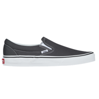 Vans Classic Slip On - Men's - Grey / White