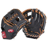 Rawlings Gamer G204-1B SPOST-WEB Fielder's Glove - Black / Brown