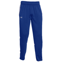 Under Armour Team Qualifier Warm-Up Pants - Men's - Blue / White