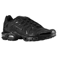 Nike Air Max Plus - Men's - All Black / Black