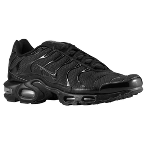Nike Air Max Plus - Men's - Black/Black/Black
