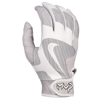 Nike MVP Pro Batting Gloves - Men's - White / Grey