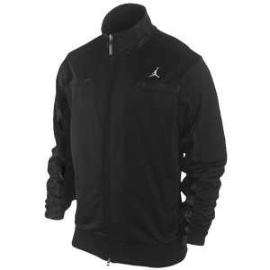 Jordan Classic Jacket - Men's - Black/Black/White