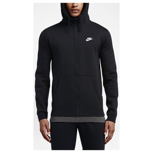 Nike Club Full Zip Fleece Hoodie - Men's - Casual - Clothing ...